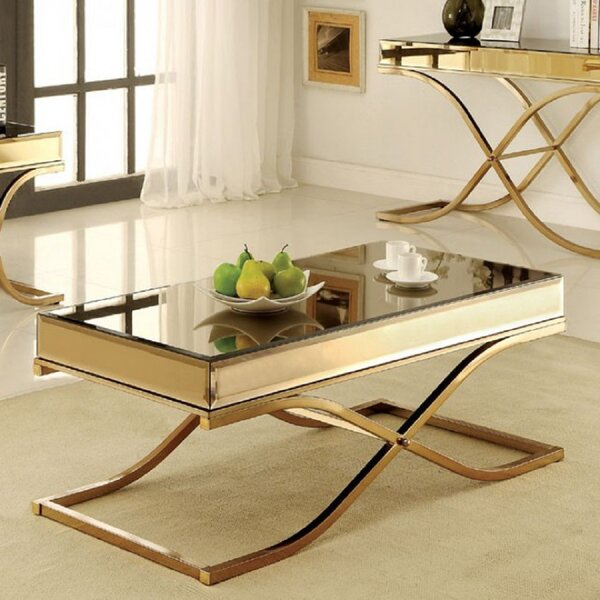 Crossley Coffee Table By Everly Quinn