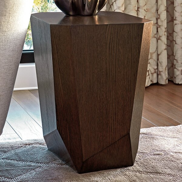 Zavala Tangent Facted End Table by Lexington