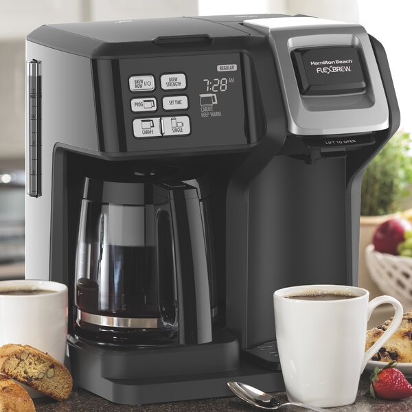 12-Cup FlexBrew® 2-Way Coffee Maker by Hamilton B