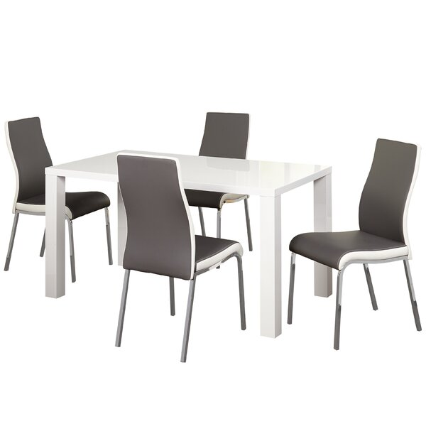 Matteoli 5 Piece Dining Set by Orren Ellis