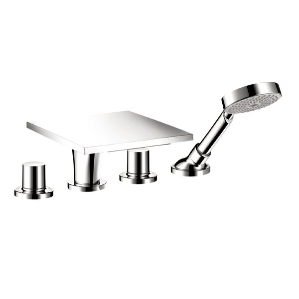 Axor Massaud 4-Hole Roman Tub Spout Set by Axor