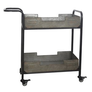 Myrtie Metal Frame Bar Cart by Williston Forge