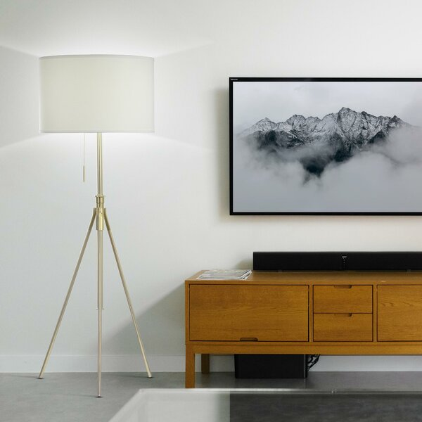 Baristo 72 Tripod Floor Lamp by Langley Street