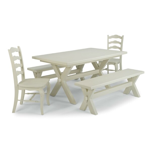 Moravia 5 Piece Dining Set by Laurel Foundry Modern Farmhouse