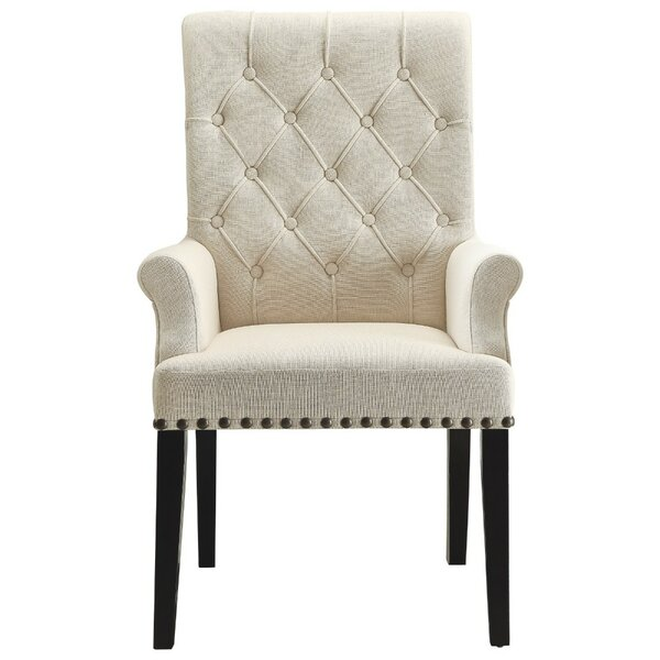 Kells Upholstered Dining Chair by Alcott Hill