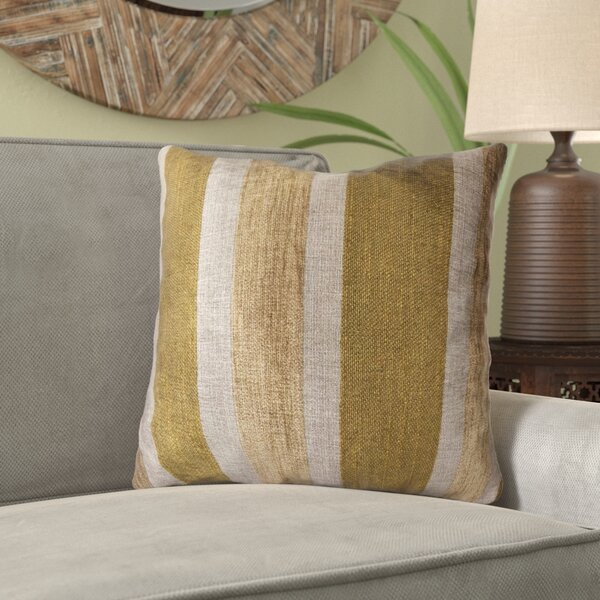 Aliyah Lines Luxury Pillow by Bloomsbury Market
