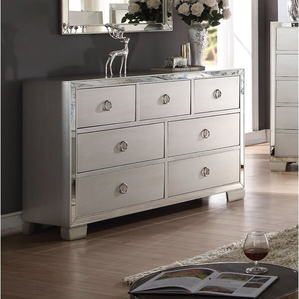 Isai 7 Drawer Double Dresser by Rosdorf Park