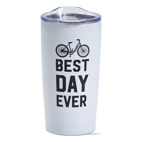 Best Day Double Wall Stainless Steel 18 oz. Insulated Tumbler by TAG