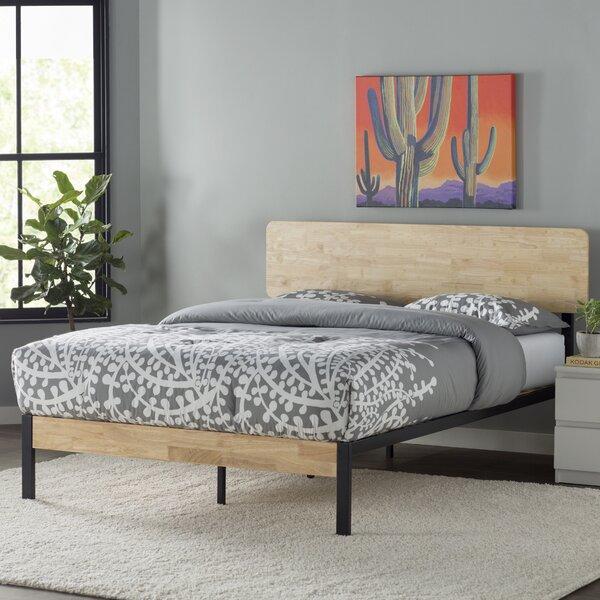Ursula Metal/Wood Platform Bed by Zipcode Design