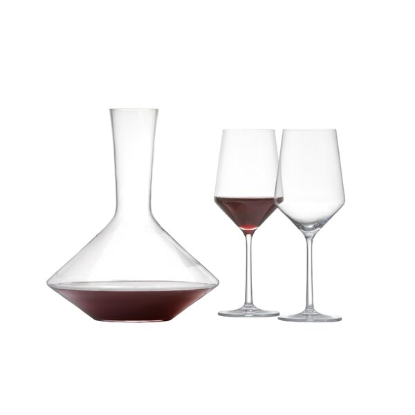 Pure Lead-Free Crystal 18.2 Oz. Wine Glass (Set of 3) by Schott Zwiesel