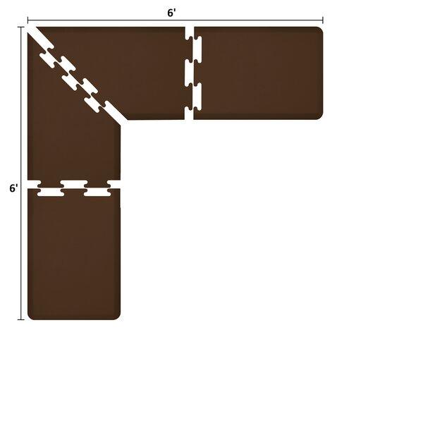 Premium Puzzle Piece L-Series Anti-Fatigue Mat