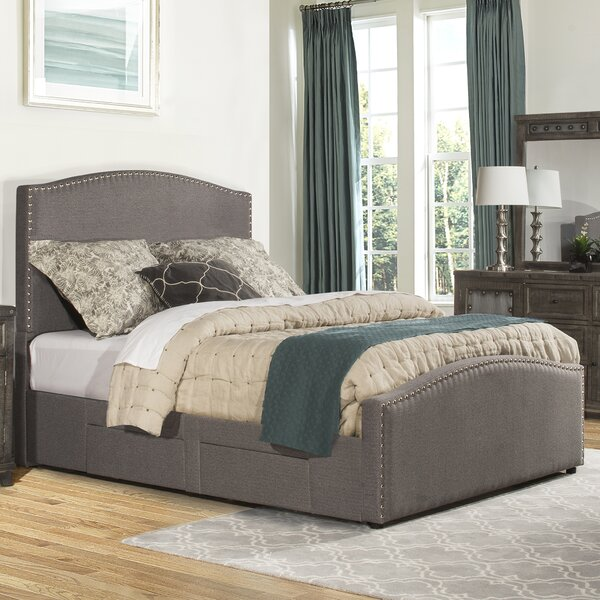 Harleigh Upholstered Storage Standard Bed by Darby Home Co