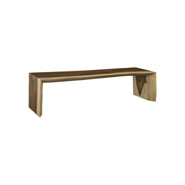 Waterfall Wood Bench by Phillips Collection