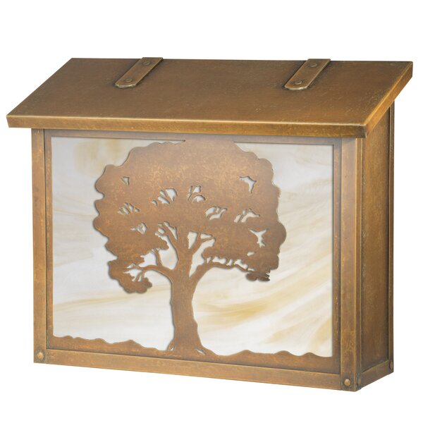 Oak Tree Wall Mounted Mailbox by America's Finest Lighting Company