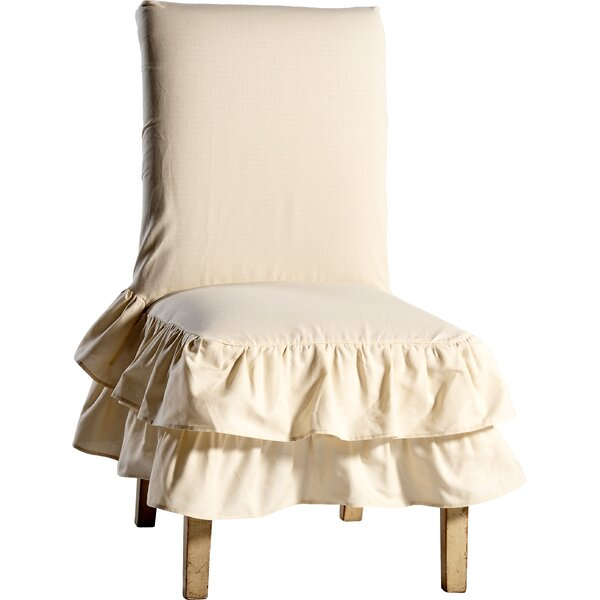 Chair Skirted Slipcover by Lark Manor