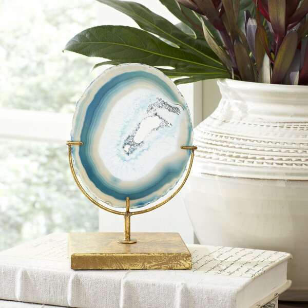 Blue Agate Decor by Birch Lane™Blue Agate Decor by Birch Lane™