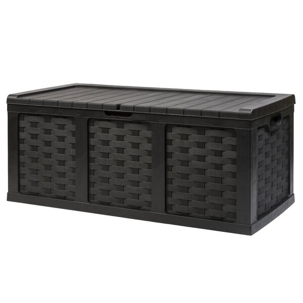 167.5 Gallon Plastic Deck Box by Starplast Starplast