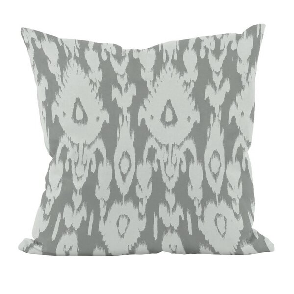 Ikat Down Euro Pillow by e by design