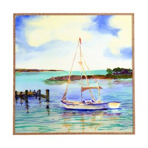 Summer Sail Framed Painting Print by East Urban Home