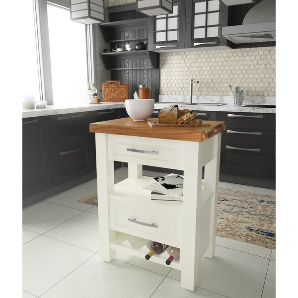 Lygia Kitchen Island by Gracie Oaks