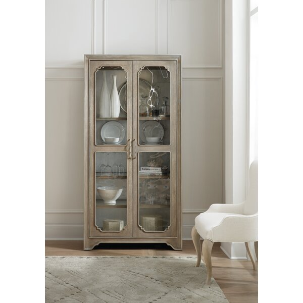 Modern Romance Curio Cabinet by Hooker Furniture