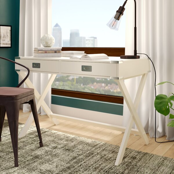 Marotta Campaign Writing Desk by Mercury Row