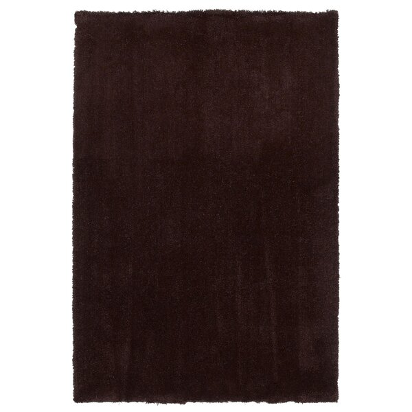 Bouvier Espresso Area Rug by Wrought Studio