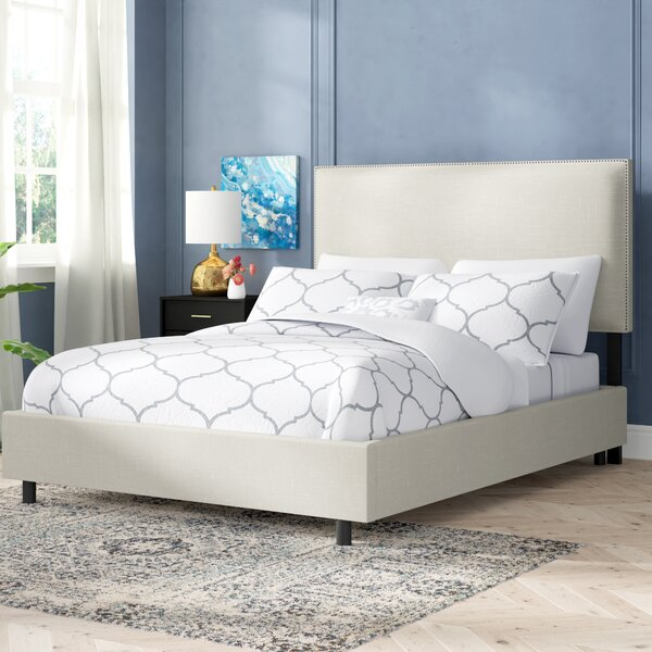 Oldham Upholstered Standard Bed by Willa Arlo Interiors