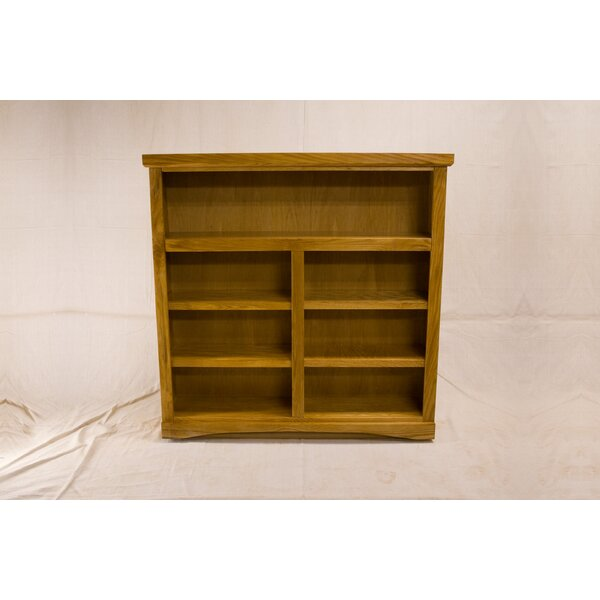Kaleigh 2 Shelf Traditional Standard Bookcase by Darby Home Co