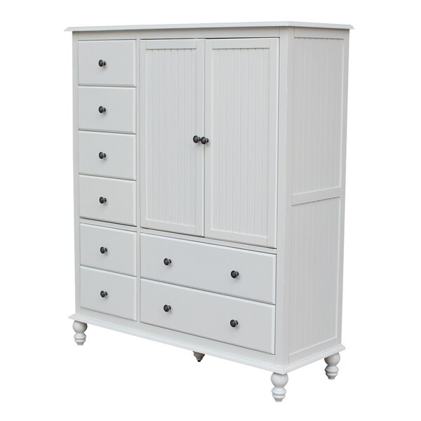 Dania 8 Drawer Gentlemans Chest by Rosecliff Heights