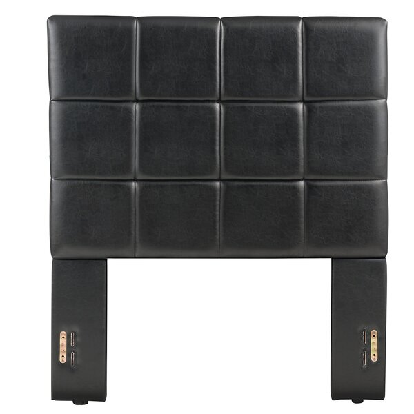 Middlebrook Twin Upholstered Panel Headboard by Orren Ellis
