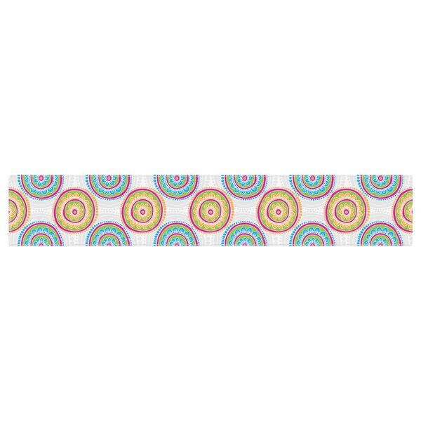 Apple Kaur Designs Bombay Dreams Table Runner by East Urban Home