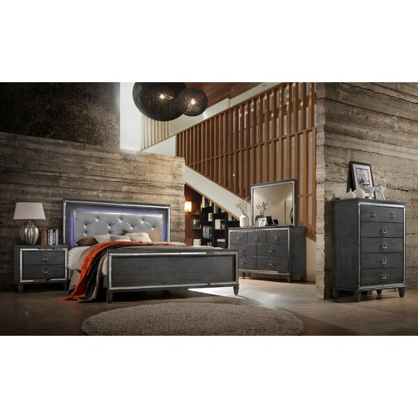 Ezio Standard Configurable Bedroom Set by House of Hampton