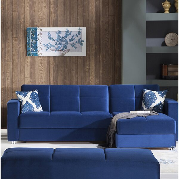 Lieberman Reversible Sleeper Sectional by Latitude Run