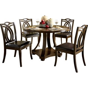 Compare prices Kirklin Dining Table By Three Posts