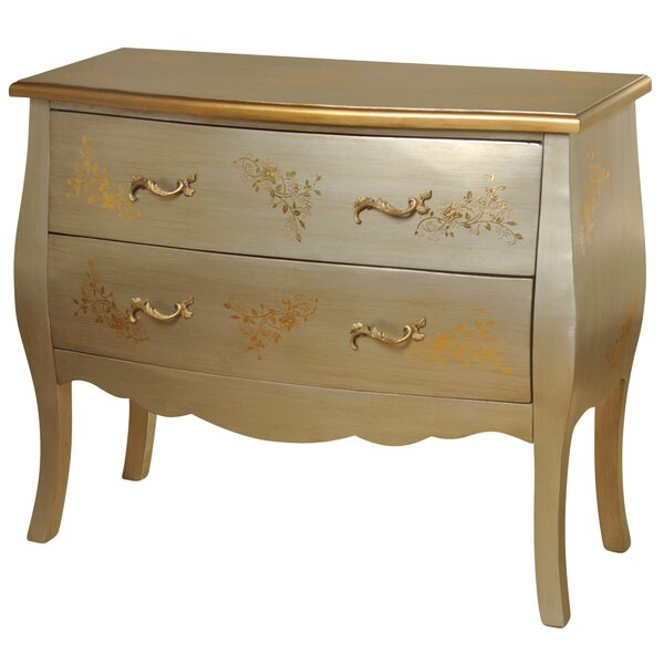 Liah 2 Drawer Accent Chest by Rosdorf Park