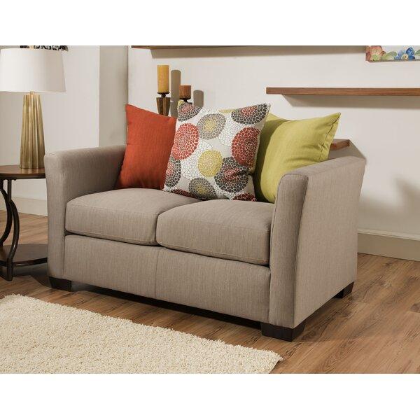 Bargain Simmons Upholstery Roulston Loveseat by Red Barrel Studio by Red Barrel Studio