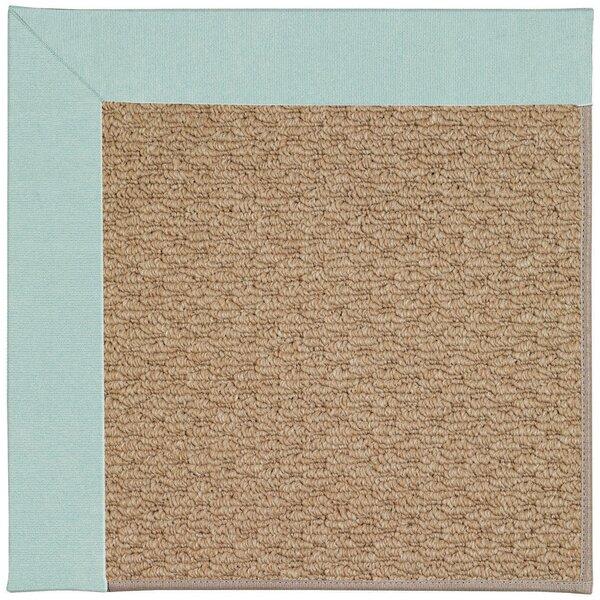 Crofoot Tufted Ocean/Gray Indoor / Outdoor Area Rug
