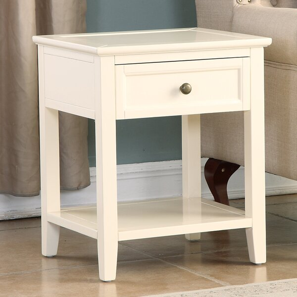 Younker 1 Drawer Nightstand by Alcott Hill