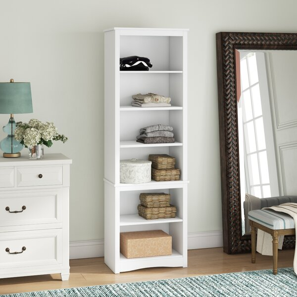 Nate Library Standard Bookcase by Beachcrest Home Beachcrest Home