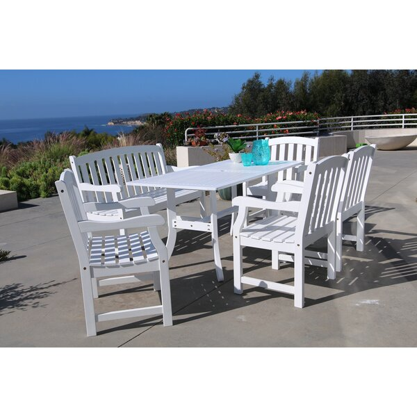 Duffner 6 Piece Dining Set by Darby Home Co