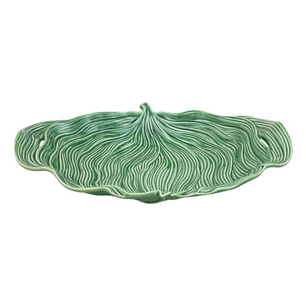 Leaves Leaf Platter by Bordallo Pinheiro