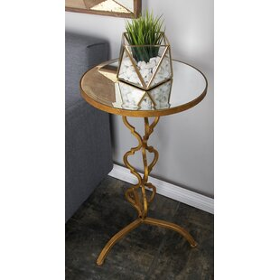 Comparison End Table by Cole & Grey