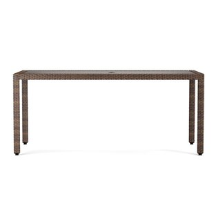 Patio dining tables youll love wayfair ellie rectangle dining table watchthetrailerfo