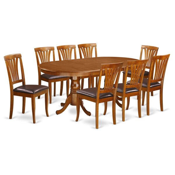 Newton 9 Piece Dining Set by Wooden Importers