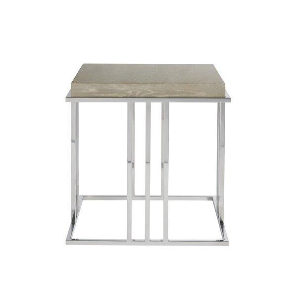 Rimini End Table by Gracie Oaks