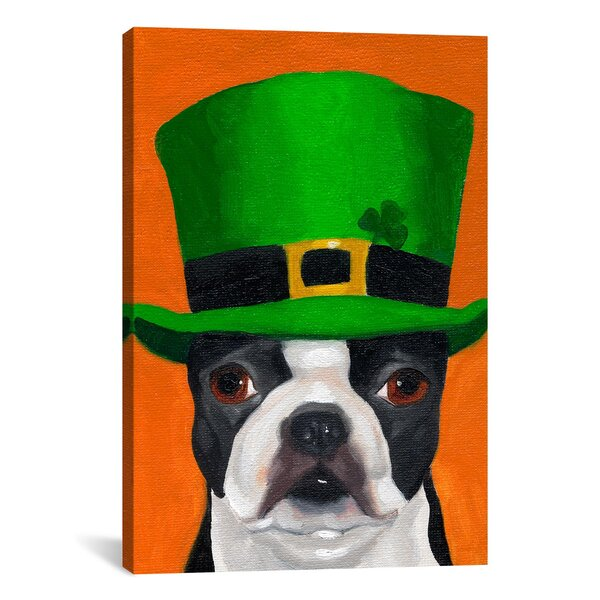 Hat 24 Irish by Brian Rubenacker Graphic Art on Canvas by iCanvas