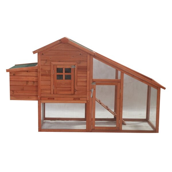 Pet House with Poultry Hutch by ALEKO