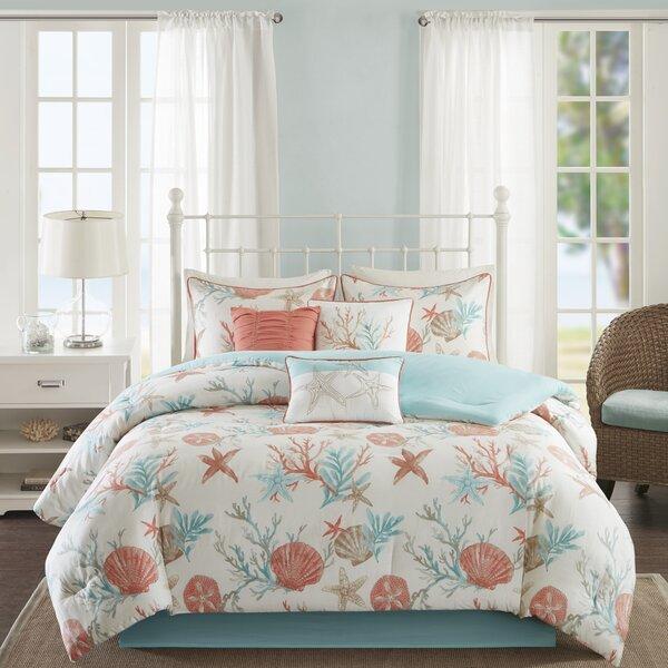 Keyport 7 Piece Comforter Set by Beachcrest Home