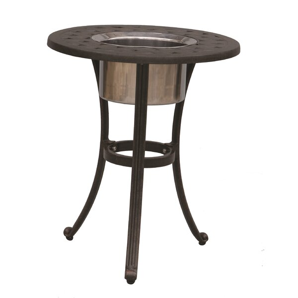 Vera Metal Side Table by Alcott Hill